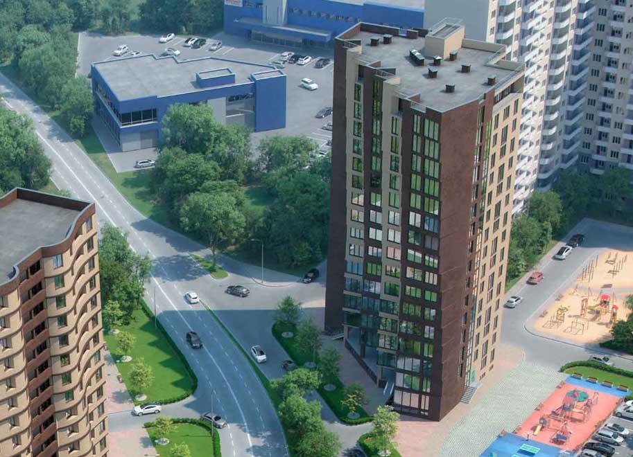 Жилой комплекс Пируэт в Краснодаре