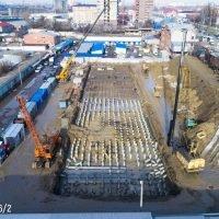 Фотоотчет о строительстве ЖК Время за декабрь 2017