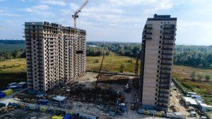 Фотоотчет о строительстве ЖК Трилогия за октябрь 2017