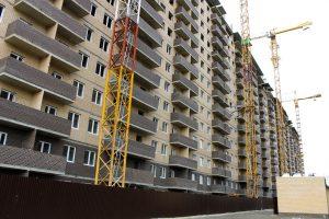 Фотоотчет о строительстве ЖК Притяжение за октябрь 2017