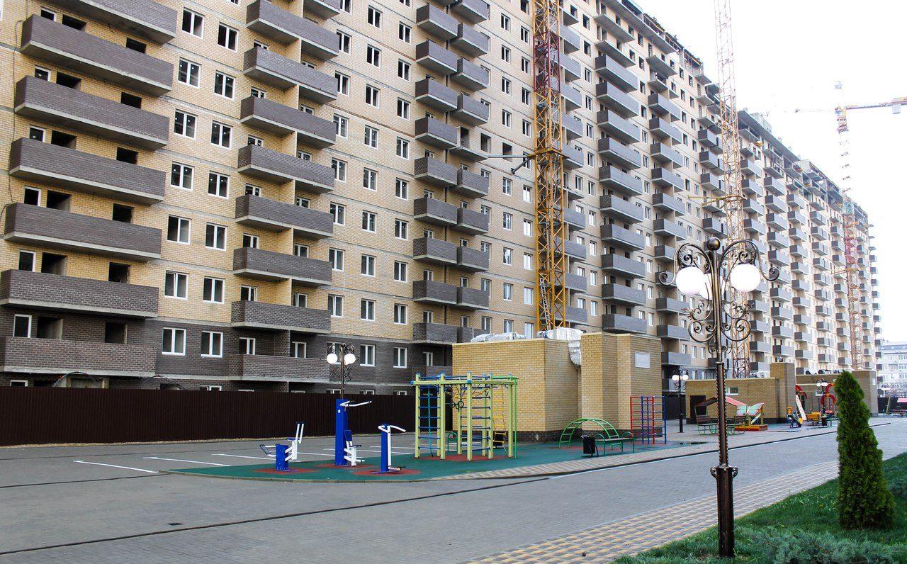 Фотоотчет о строительстве ЖК Притяжение за ноябрь 2017