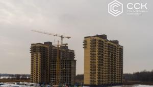 Фотоотчет о строительстве ЖК Трилогия за февраль 2018 г.