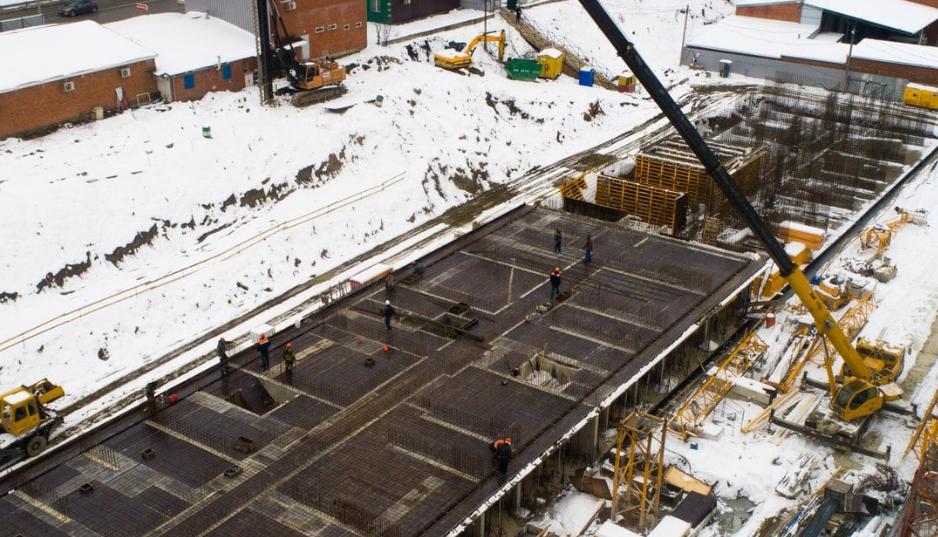 Фотоотчет о строительстве ЖК Время за 28 февраля 2018 г.