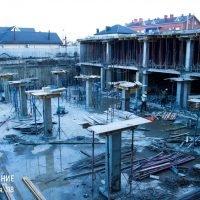 Ход строительства ЖК Притяжение за 8 февраля 2018 года.