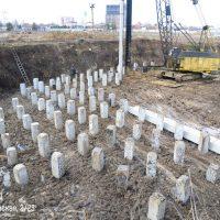 Ход строительства ЖК Фонтаны за февраль 2018 г.