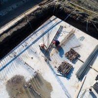 Ход строительства ЖК Время за 08 февраля 2018 года.