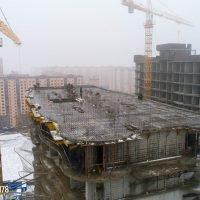Фотоотчет о строительстве ЖК Флотилия за 28 февраля 2018 г.