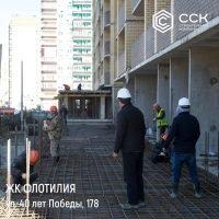 """Фотоотчет о строительстве ЖК """"Флотилия"""" за 14 марта 2018 г."""