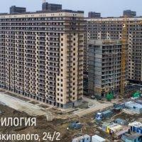 """Фотоотчет о строительстве ЖК """"Трилогия"""" за 22 марта 2018 г."""