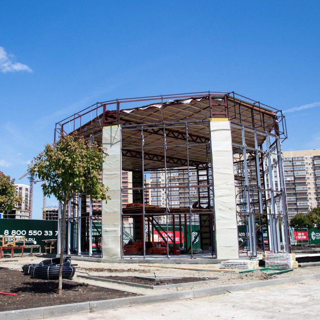 Фотоотчет о строительстве ЖК Луший за 23 мая 2018 года